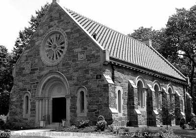 andover west parish cemetary chapel photo