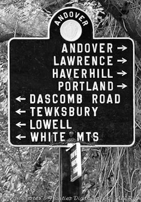 andover sign post photo